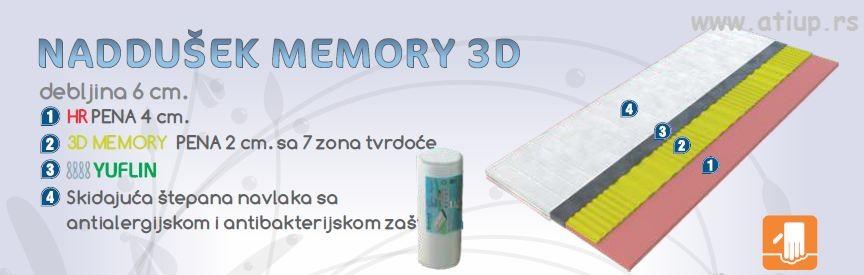 naddušek 3D memory www