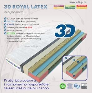 3D Royal Latex www